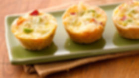 Flaky mini quiches are a great way to st