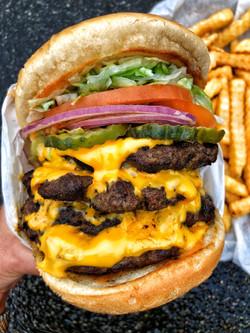4x4 All American Burger