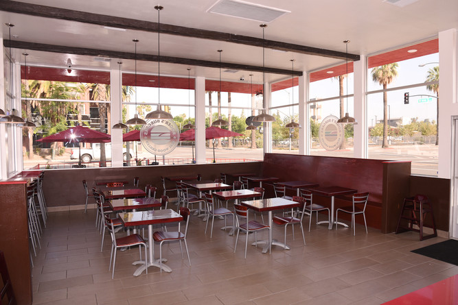 SB Interior Eating Area