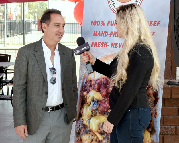 Founder, Alex Nehorayan, Interviewing at Grand Opening Ceremony