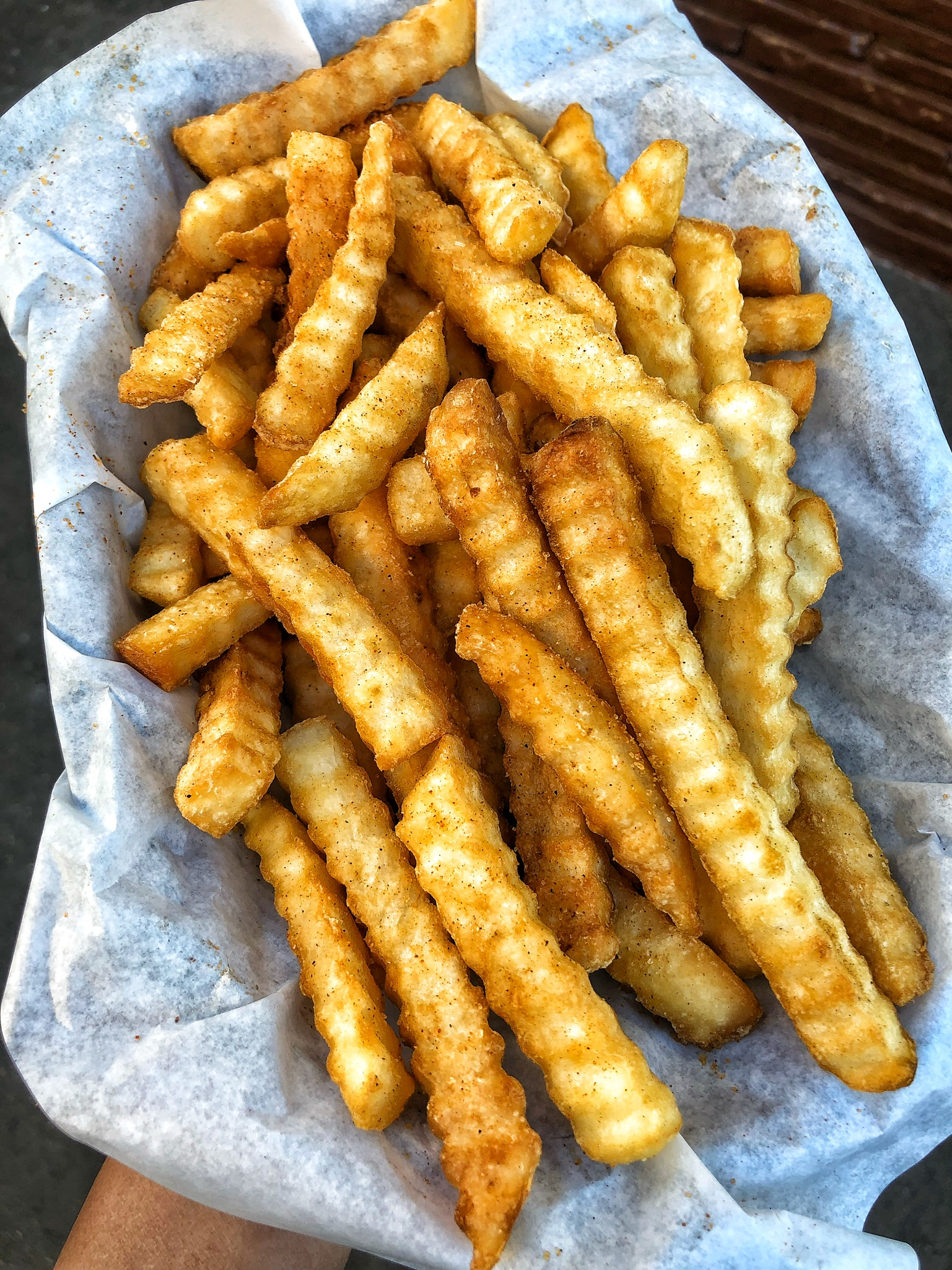 Seasoned Crinkle Fries