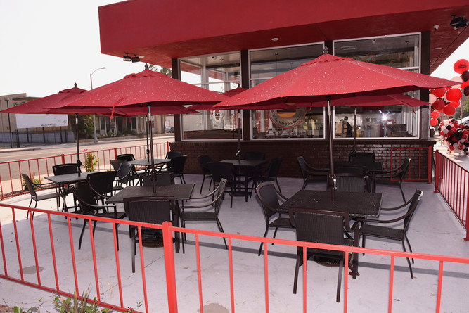 SB Outdoor Patio and Seating Area