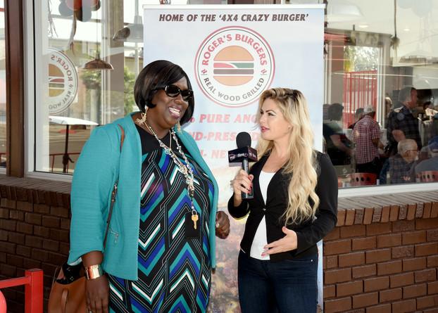City Councilwoman Bessine Richard Interviewing