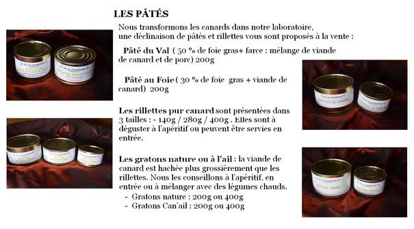 EARL Val de Chanedière-Présentation pât