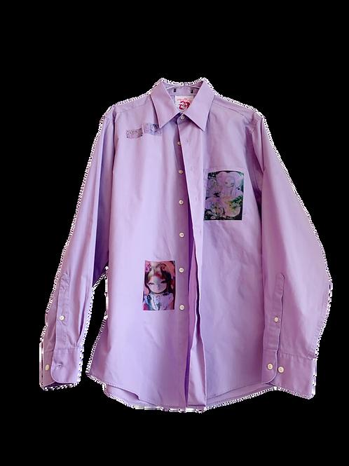 Buttondown purple