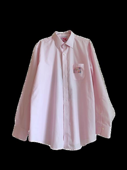 Buttondown pink