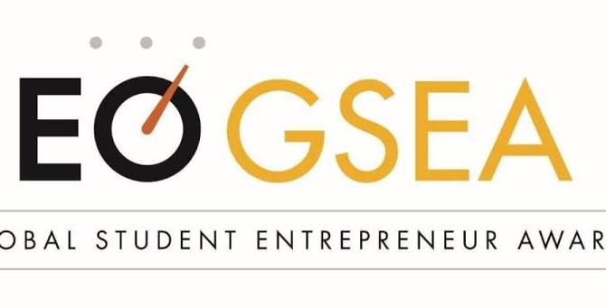 世界起業家機構、EOが主催する大学生起業家アワードにて、西日本1位を受賞しました。