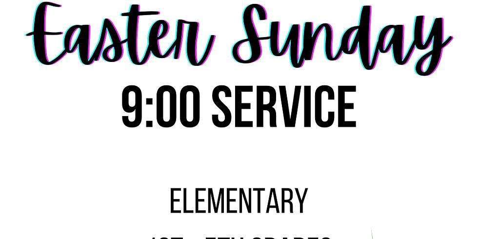 9am - Elementary (1st - 5th) Sunday Registration