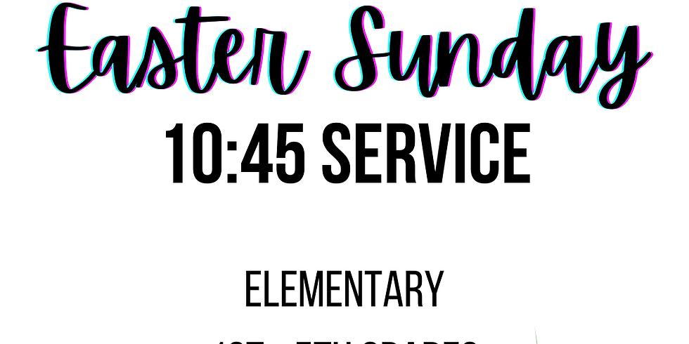 10:45 - Elementary (1st - 5th) Registration
