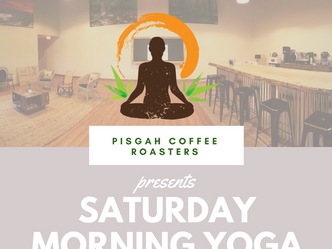 Join us for Saturday Morning Yoga!
