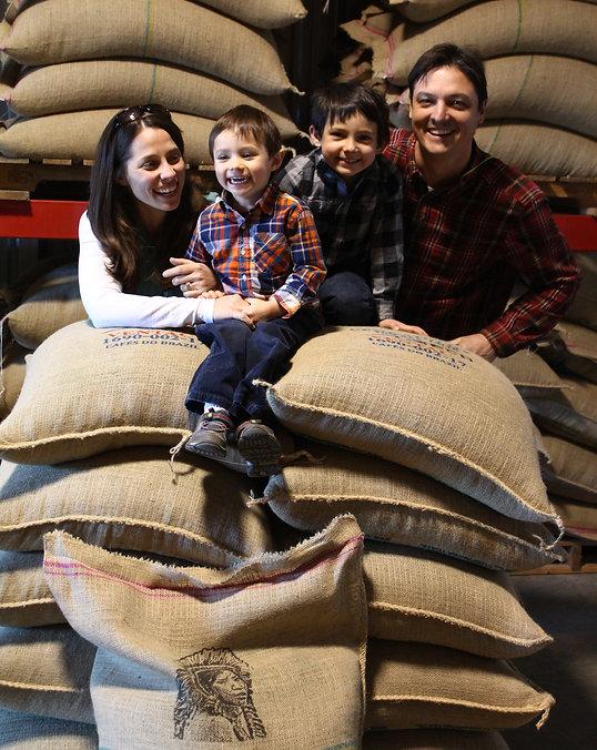 Pisgah Coffee Roasters Family