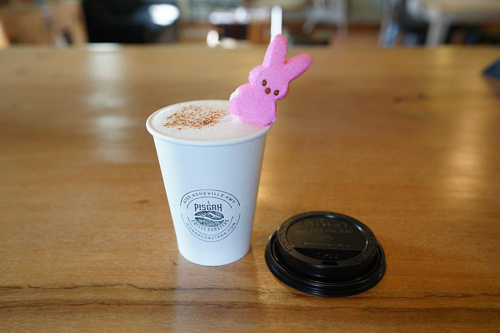 Peep Marshmallow Easter Vanilla Latte
