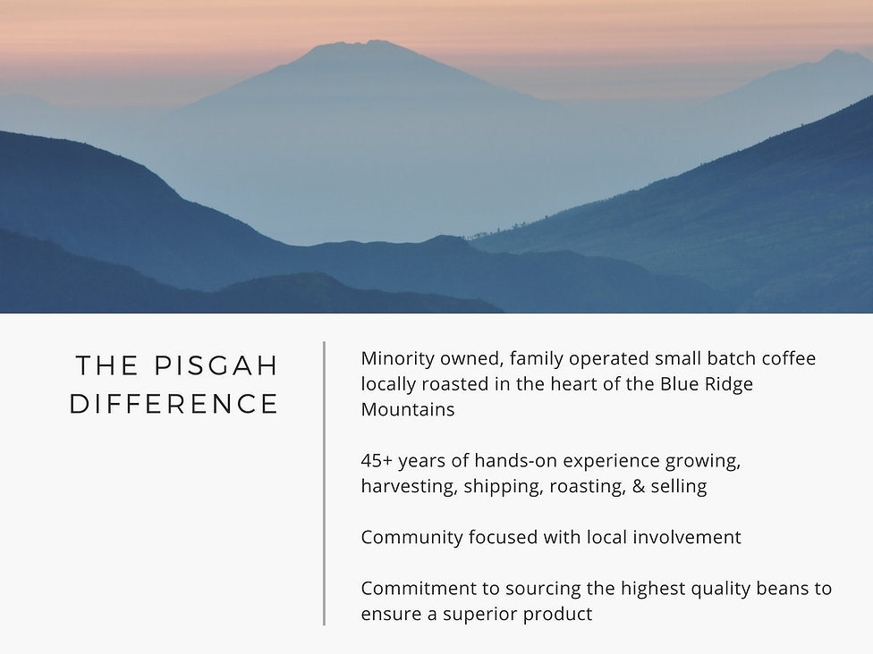 Pisgah Coffee Roasters Difference