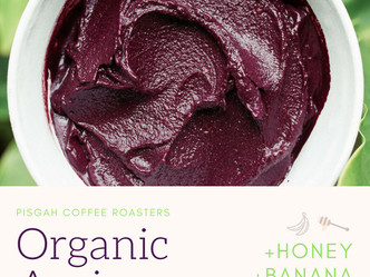 Organic. Acai. Bowls. We got 'em.