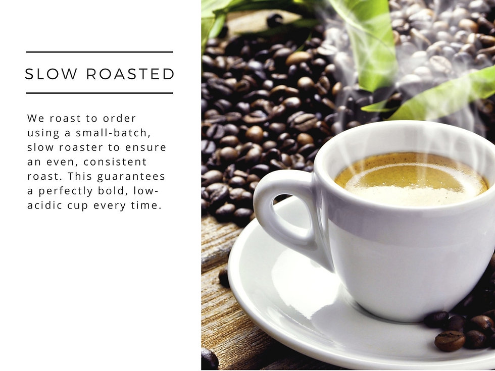 Pisgah Coffee Roasters Slow Roasted