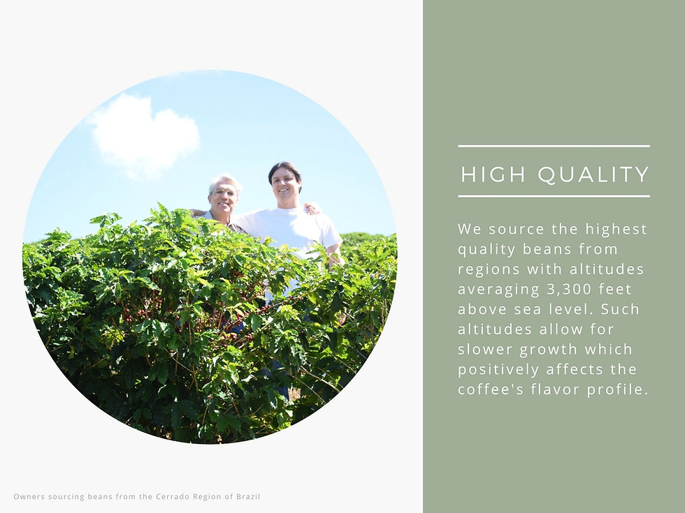 Pisgah Coffee Roasters Brazil Plantation