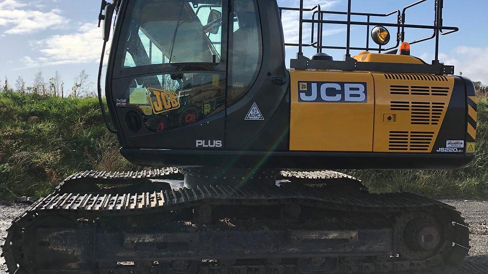 JCB JS220LC PLUS T4F