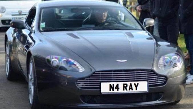 Cherished Registration  N4 RAY