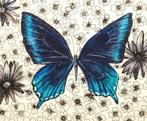 Blue Pollinator Series II