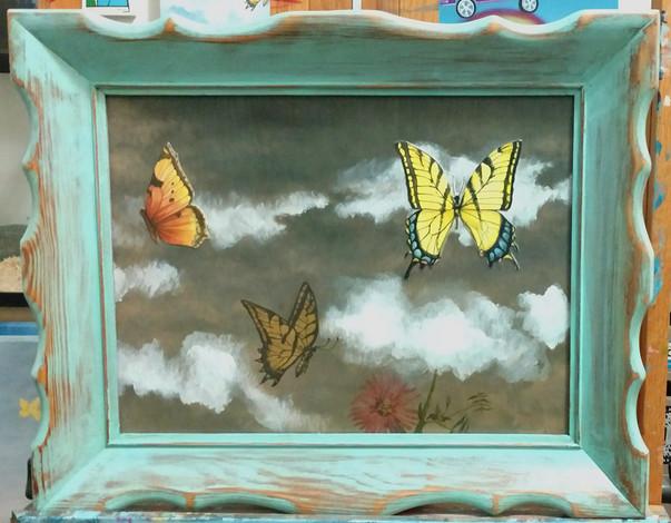Butterflies Dream Sky