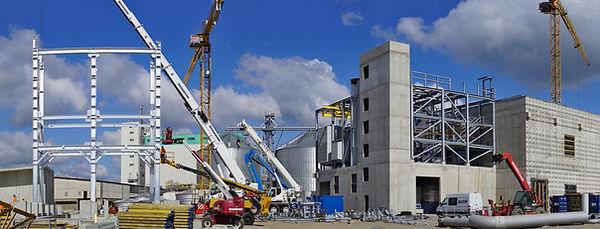 construção de uma estrutura