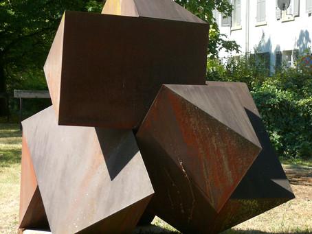 Cortenstahl-Skulpturen