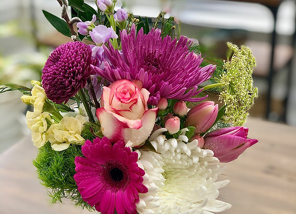 Fresh Floral Jar Subscription