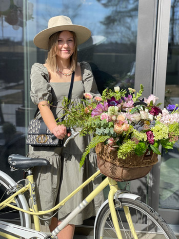 Basket Full of Flowers