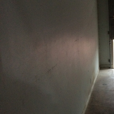 Garage Wall - Before