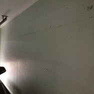 Garage Wall - Before