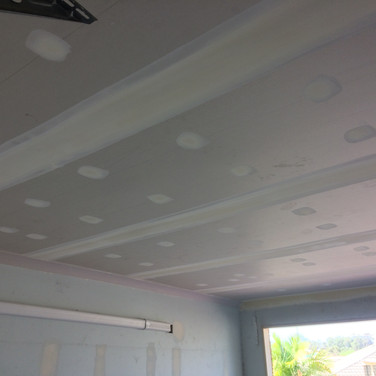 New Garage Ceiling