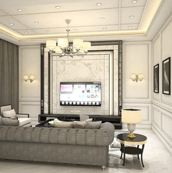 Modern classic living lounge