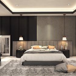 V Residence master bedroom