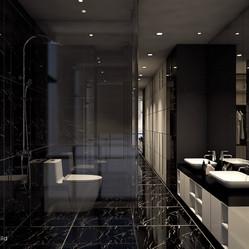 V Residence master bathroom
