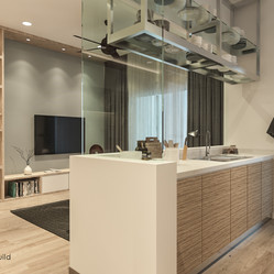 Imperial Residence Living & Kitchen