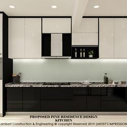 Pine Residence kitchen