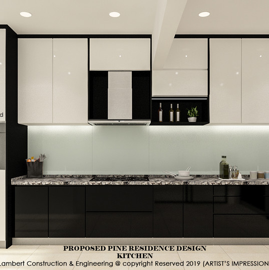 Pine Residence kitchen