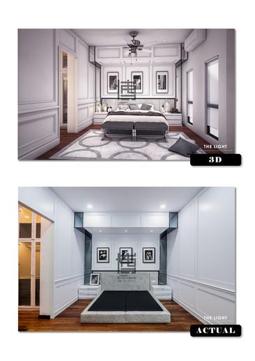 THE LIGHT 3D VS ACTUAL PHOTO