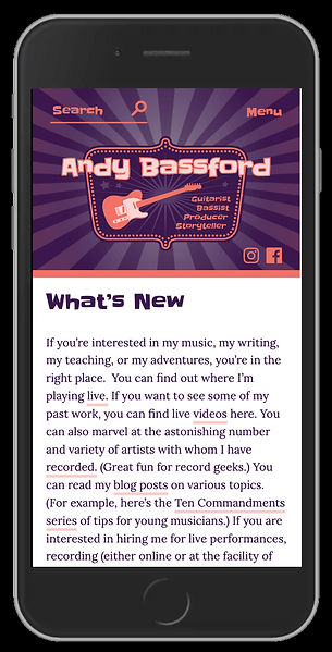bassford homepage mobile
