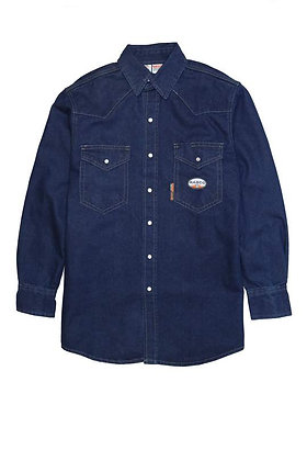 Rasco Denim Heavyweight Work Shirt 11.5 oz