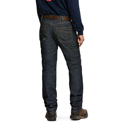 ARIAT FR M4 Low Rise Stretch Duralight Workhorse Stackable Straight Leg Jean