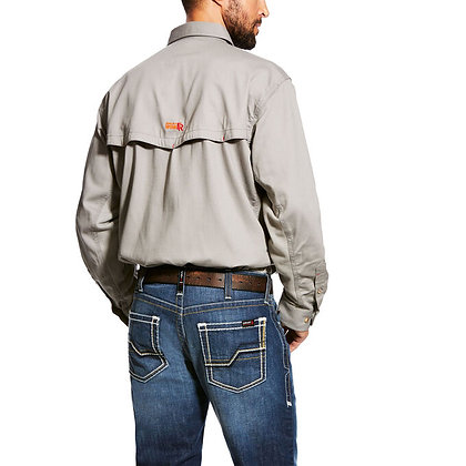 ARIAT FR Solid Vent Work Shirt