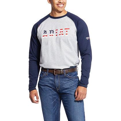 ARIAT FR Baseball Logo T-Shirt