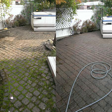 Paver Patio Cleaning