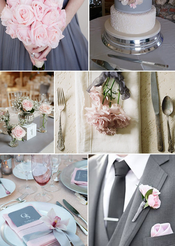 blush-and-grey-wedding-color-ideas-for-2017-trends-1