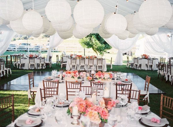 Charming-Coral-Pink-Wedding-Decorations-88-With-Additional-Wedding-Dessert-Table-with-Coral-Pink-Wedding-Decorations