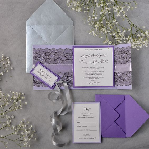 24-lavender-with-black-lace-wedding-invitation-and-a-grey-envelope-is-a-nice-combo