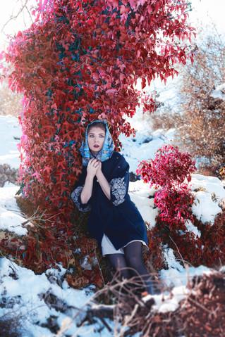 Sesión fotos en la nieve Alicante
