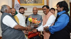 Chairman with President