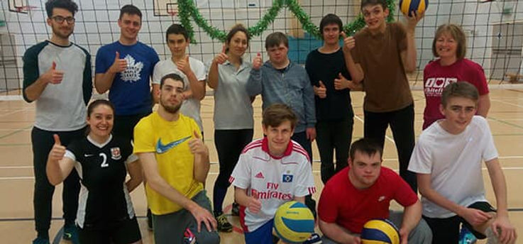 A Sport for All at Newbury Volleyball Club